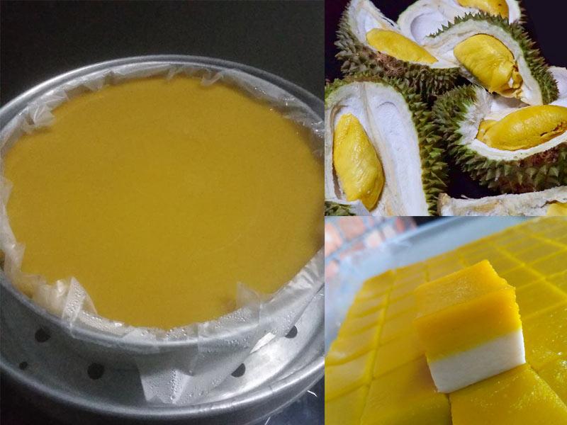 Resepi Talam Durian Licin Best Dengan Rahsia Penjual Kuih Talam