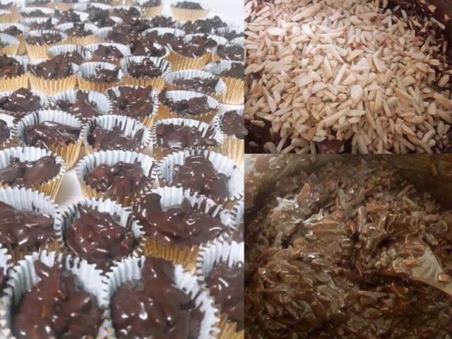 Sedapnya resepi biskut almond coklat ni.Budak-budak suka la makan biskut rangup camni dengan rasa almond cincang rangup yang disangai.Nanti boleh buat.Terbaik.