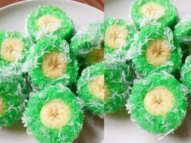 Kalau ada pisang nangka lebih tu, apakat buat resepi pulut bangkok. Memang puas hati. Lemak pulut, manis dengan masin semua ada bersatu dalam satu suapan.Best.