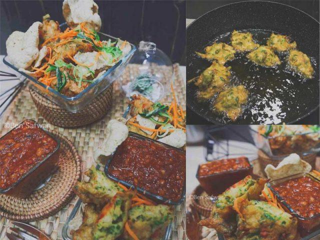 Resepi cucur udang rangup ni memang best la.Tambah-tambah kami bagi lengkap dengan resepi sos kacang untuk cicah bersama. Jom pakat buat cucur udang.Terbaik