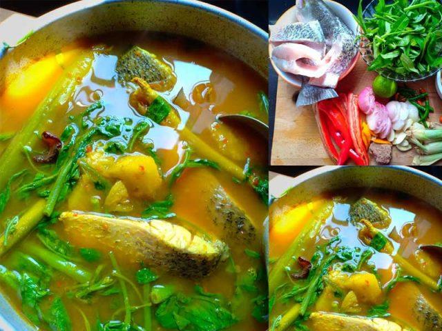 Lepas ni boleh la cuba resepi ikan siakap kengsom ini. Tak la asyik masak 3 rasa, masak masam manis atau masak stim kan. Sedap tau rasa masakan kengsom ni. Terbaik