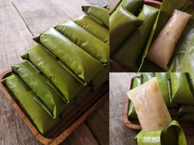 Memang berbaloi cuba resepi lepat pisang bersantan ni.Guna pula pisang berangan ,lagi lah sedap. Ada kami sertakan sekali camna nak bungkus cantik .Best kan.