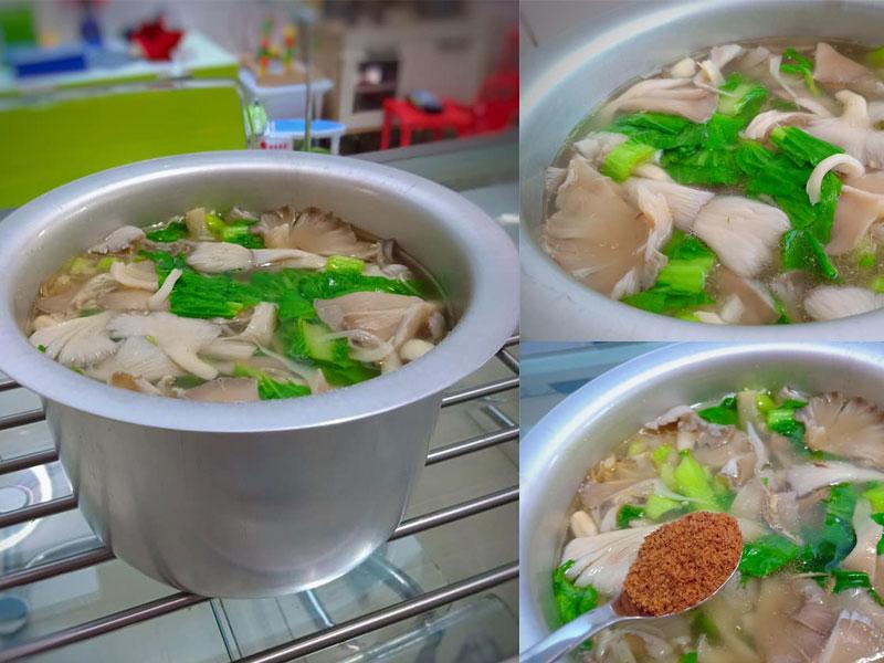 resepi  sayur sawi cendawan bestboleh kuruskan badan tau Resepi Sup Ikan Dowry Enak dan Mudah