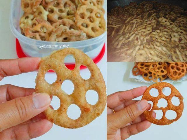 Sedapnya kuih cincin Sabah ni. Dulu kalau nak makan, kirim kat kawan yang kerja sana. Sekarang dah ada resepi dan tips best, boleh la buat kuih tradisi ni
