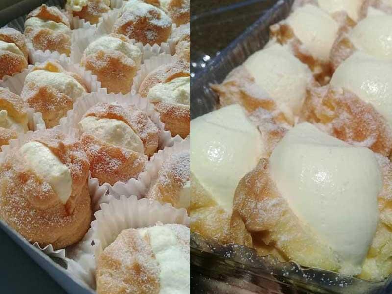 Kalau anda nak makan crempuff yang intinya sangat sedap, boleh cuba resipi creampuff aiskrim ini. Memang berbaloi untuk dicuba. Sedap sangat rasa intinya