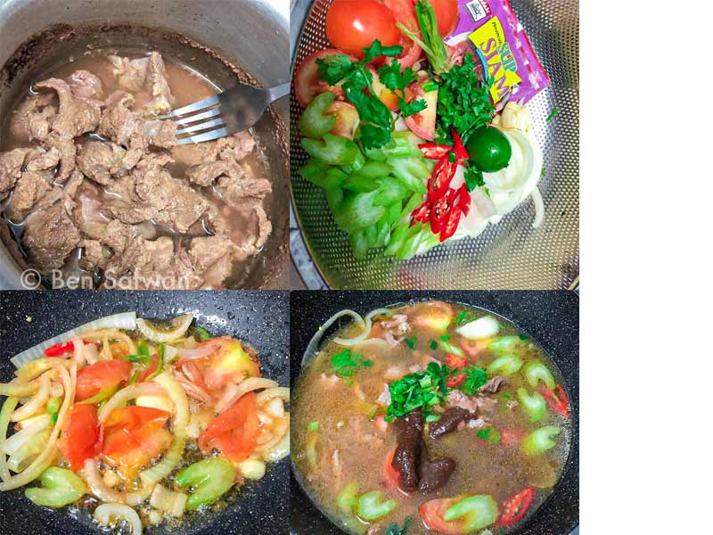 Kami berikan resepi sup siam daging yang sedap dimakan dan dihirup, Memang sesuai lah dengan musim sekarang, Jom cuba jom.Nak guna daging, tulang ,ekor boleh je