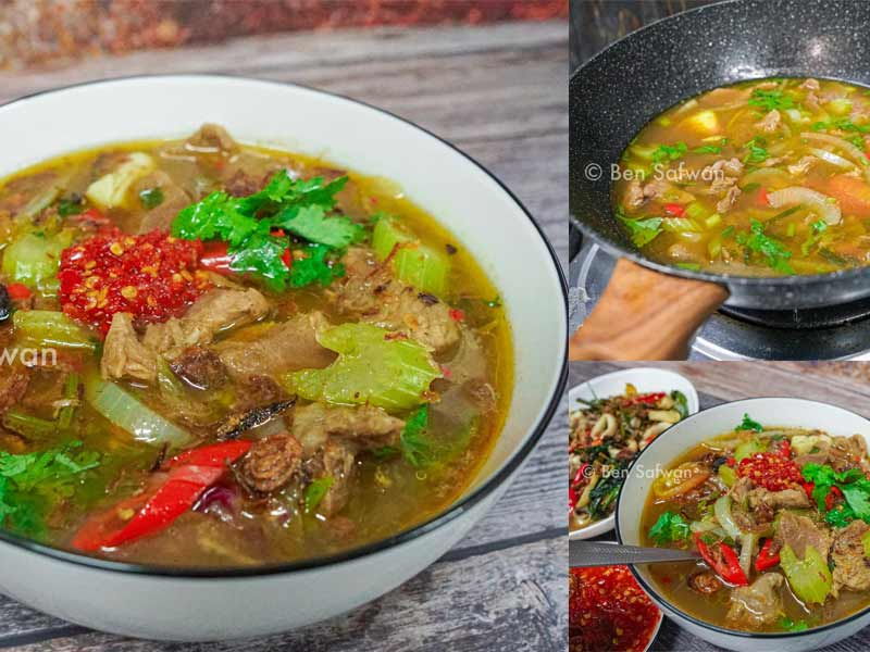 Resepi Sup Siam Daging Best Sama Di Kedai Masakan Panas Fuhh