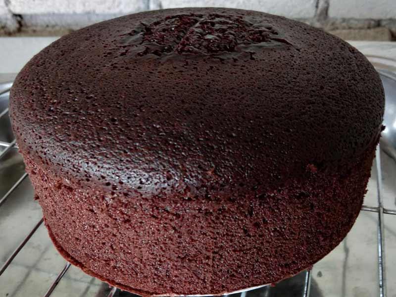 Resipi Kek Coklat Kukus Gebu Best Memang Sangat Lembab
