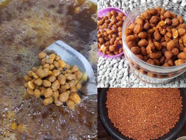 Kami berikan resepi kacang goreng rangup yang puas hati bila anda buat. Tak masuk angin, tak lembik dan kekal rangup.Memang kena cuba ni untuk menu kudapan