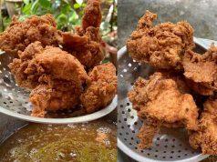 Guna 3 bahan sahaja dah cukup buatkan resepi ayam goreng tepung bestari anda lain dari yang lain .Memang senang dan sedap.Nanti bolehlah cuba ayam goreng camni