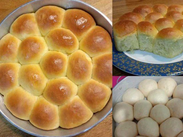 Resepi roti manis yang mudah untuk anda buat . Roti manis ini boleh anda makan begitu sahaja atau nak makan dengan jem, kaya ataupun sambal bilis.