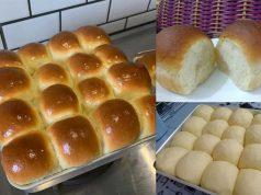Resepi roti paung kosong yang lembut ditambah dengan rasa yang gebu memang sesuai dimakan untuk setiap waktu . Memang lepas ni buat sendiri sahaja roti gebu ni