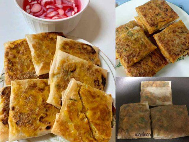 Kami nak kongsikan resepi murtabak mini untuk anda semua.Bolehlah untuk gantikan rasa terliur anda nak beli murtabak di bazar Ramadhan.Jom cuba