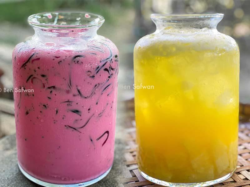 Kami nak berikan 2 resepi air bandung laici cincau dan air nanas soda yang boleh bantu anda hilangkan dahaga pada bulan Ramadhan ini. Menghilangkan dahaga betul