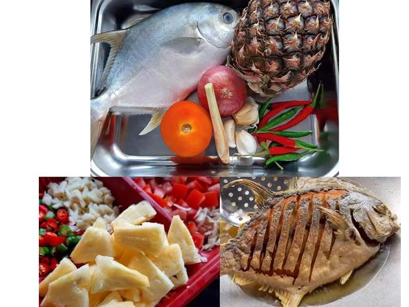 Nak tak anda buat menu ikan bawal 3 rasa yang lagi sedap daripada makan kat kedai ? Boleh.Kami akan berikan resepi penuh lengkap bersama dengan tips,