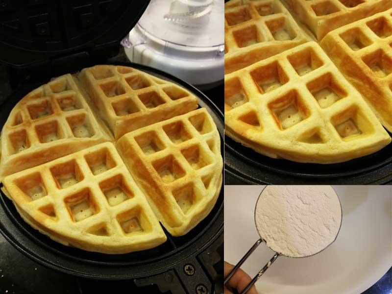 Resepi Waffle Lembut Best Rugi Tak Buat Untuk Sarapan Anak