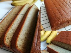 Tengok kepada resipi kek pisang gebu yang dihasilkan ini, memang sangat menarik. Dalam gambar dah pun terserlah kelembutan keknya, apatah lagi jika dimakan