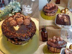 Jom hari ini kami kongsikan resepi cheesecake coklat ferrero rocher yang sungguh sedap ni. Mewah dan semestinya berbaloi untuk dimasukkan ke dalam tekak.