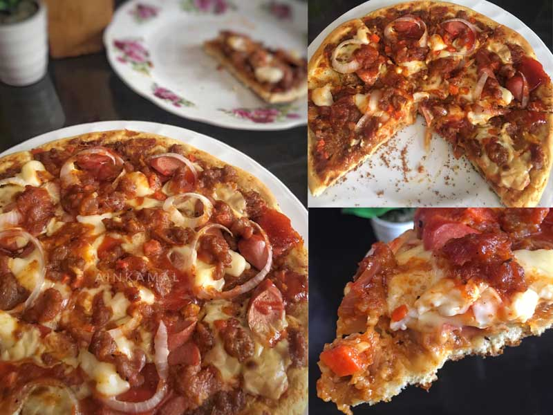 Resepi Pizza Lembut Best Buat Sendiri Sangat Mudah
