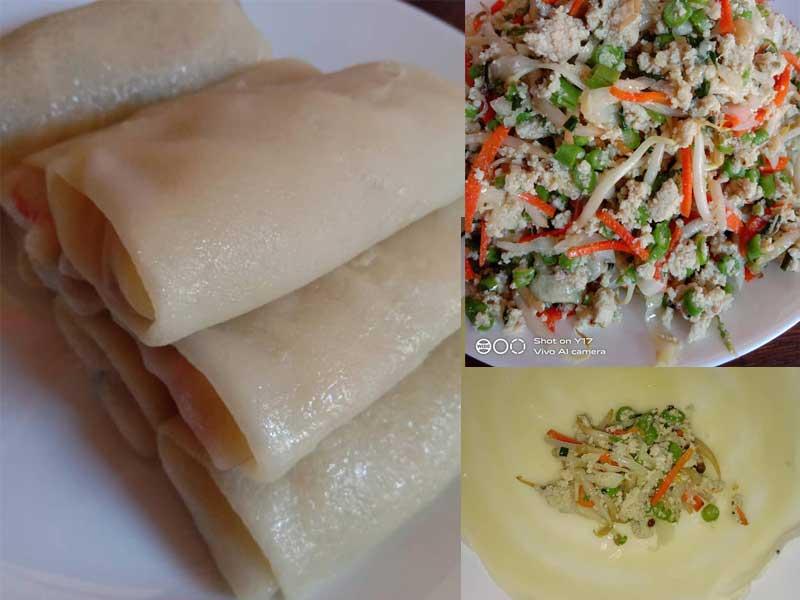 Kalau buat resepi risoles ayam dan cicah sos cili Thai ni sedap sangat kan. Boleh buat menu untuk minum petang, menu untuk berkhelah bersama keluarga pun boleh.