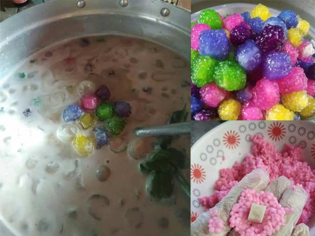 Kami berikan resepi bubur sagu warna warni yang sedap dihirup dalam cuaca panas. Letak pula sedikit ais, memang sedap la makan bubur ini.