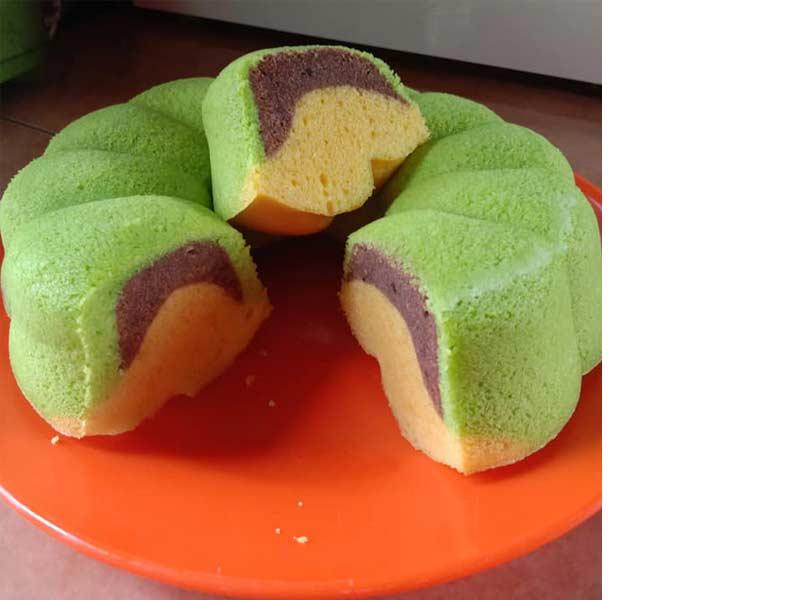 Resi kek minyak kukus yang bukan sahaja sedap malah senang untuk disediakan. Dengan rasa kek yang lembut, amatlah sesuai untuk anda buat