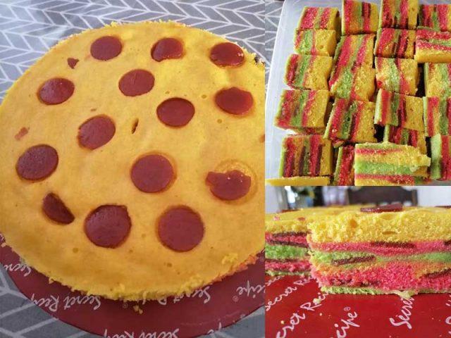 Kalau nak mudah, buatlah resipi kek masam manis ni. Sedap guna asam flake atau asam manis yang banyak dijual di pasaraya tu.