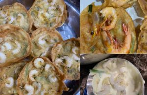 Memang best kan resipi cucur udang garing bila dicicah sos cili atau kuah kacang. Tambah-tambah makan pada waktu petang dengan air teh o panas.