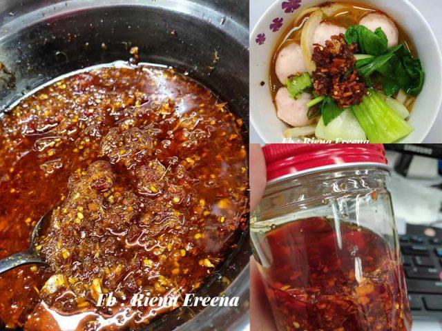 Resepi minyak cili serai ni memang sedap untuk anda tambah dalam masakan berasaskan air. Bukan sahaja untuk nasi bubur, sup malah boleh letak dalam sayur air