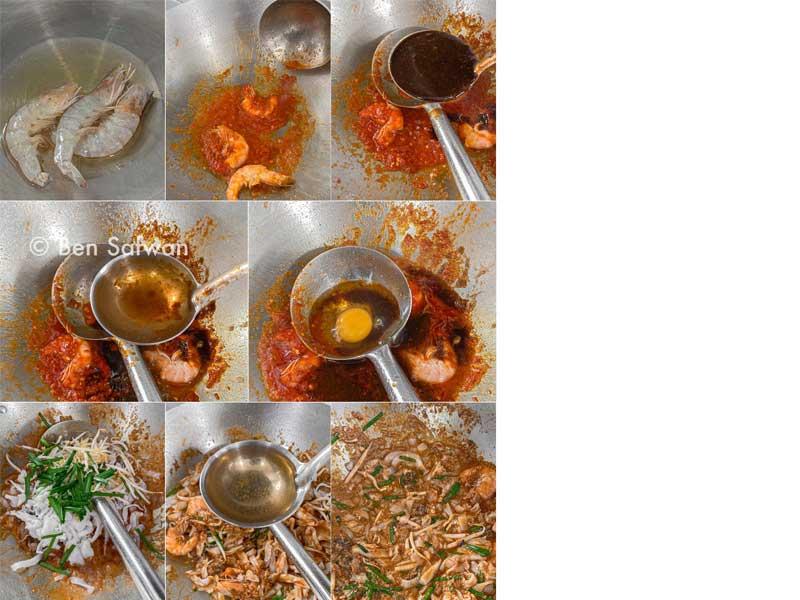 Kami nak berikan resepi char kuey teow basah yang sangat best pada tekak kami ni. Anda boleh ikut resepi ni dengan teliti sebab semua dah diberikan 100%